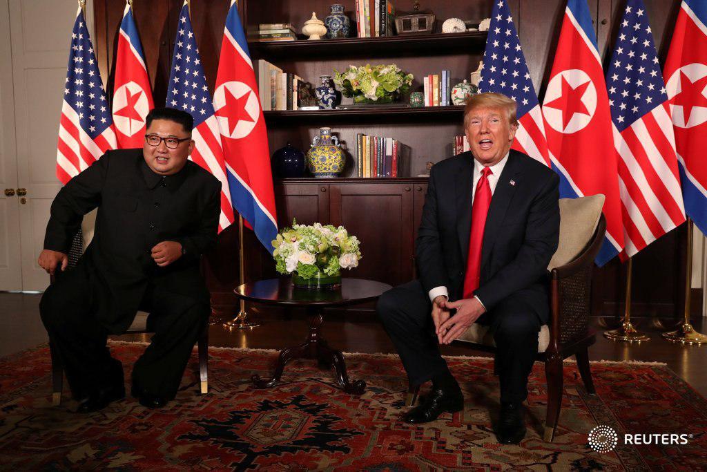 ریگان و ترامپ (به مناسبت دیدار رهبر کره شمالی با دونالد ترامپ)