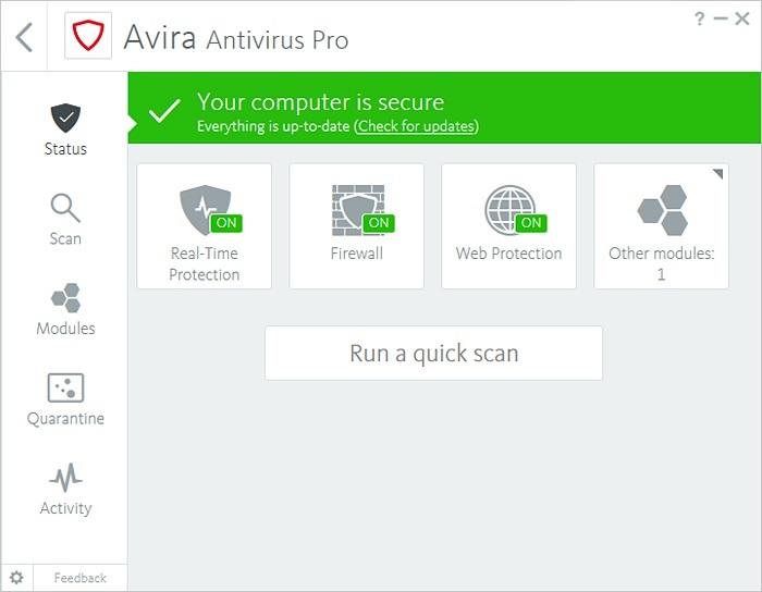 آنتی ویروس آویرا