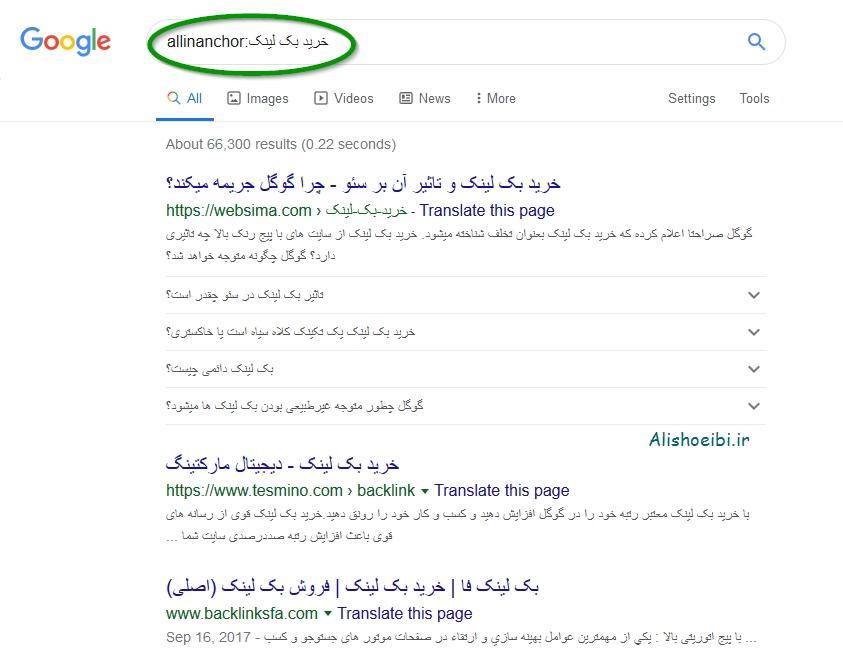 """💥 پیدا کردن"""" کلمات کلیدی"""" در anchor text های سایتها به راحتی آب خوردن !"""