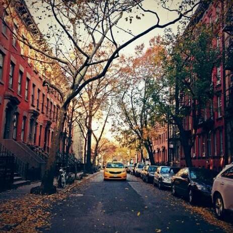 🍁پاییز در خیابان دوستداشتنی ام...🍁