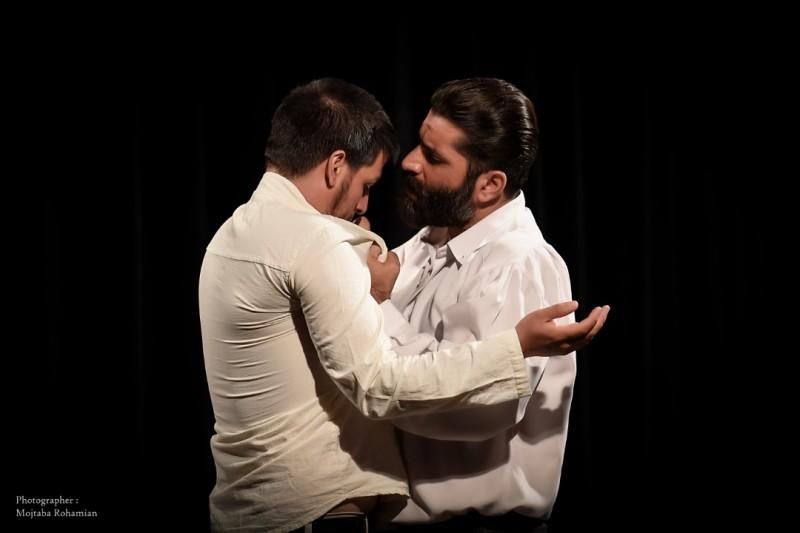 مسعود منقچی سمت راست - محمد طاهری سمت چپ