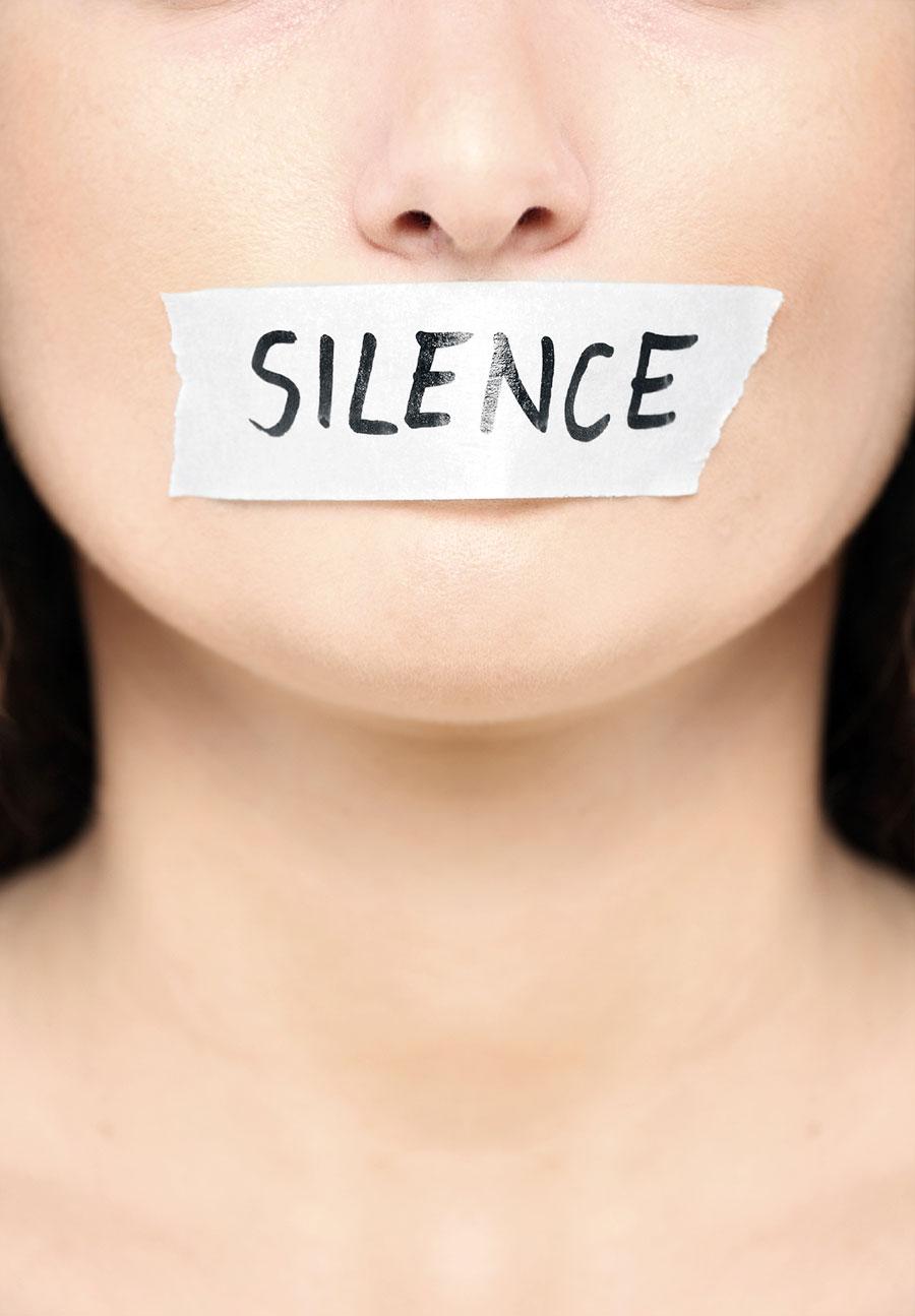 سکوت نشانه شخصیت ماست !