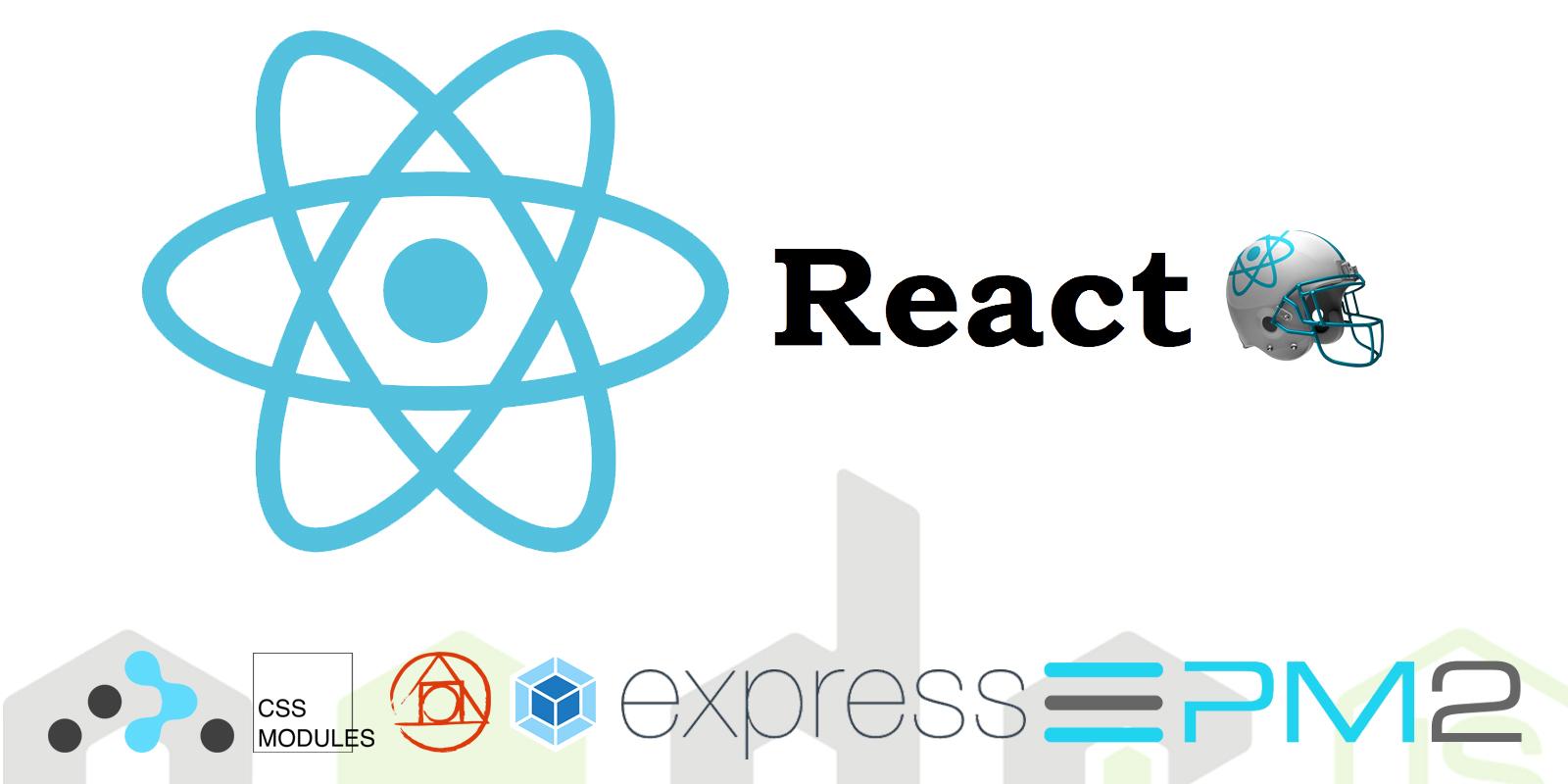 مثال کاملی از پیاده سازی یک برنامه وبی پایه بر React