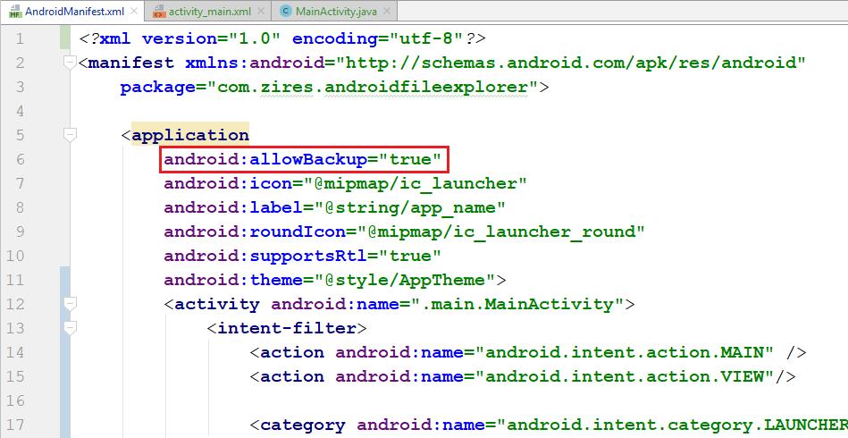 اندروید - پشتیبان گیری از داده های کاربر (SharedPreferences) با استفاده از Auto Backup