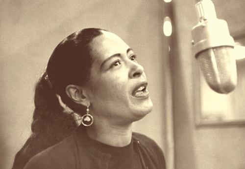 تصویر چهرۀ Billie Holiday