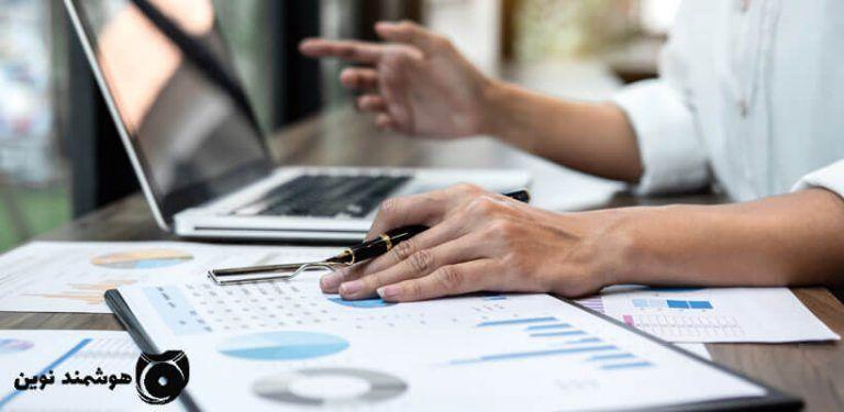 نرم افزار حسابداری شرکت خدماتی