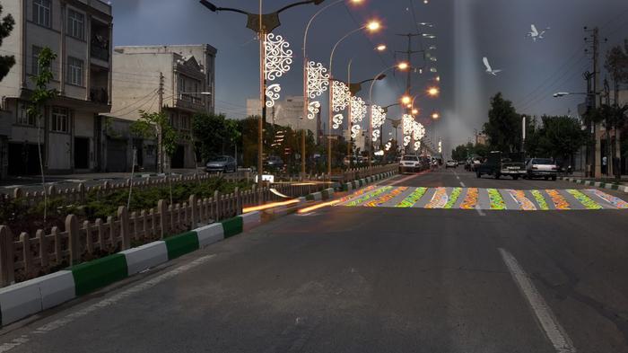آتلیه معماری ما/نور پردازی
