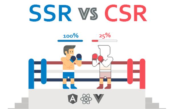SSR: پایان کابوس بارگذاری صفحات خالی از محتوا در React ،Vue.js و AngularJS