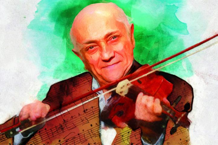 امیرهمایون خرم، نوازندهٔ ویولن، موسیقیدان و آهنگساز برجسته موسیقی ایرانی