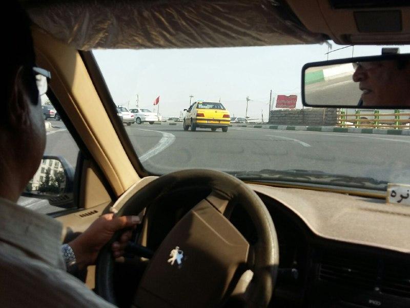 داستان یک روز در تاکسی