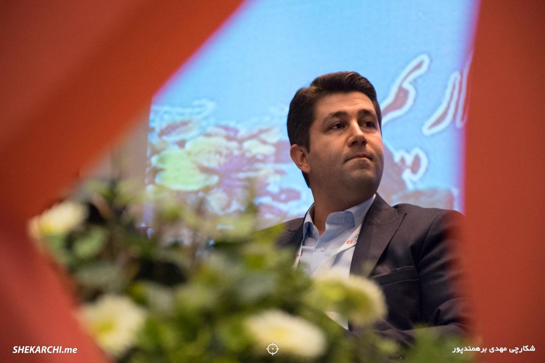 انوش شفیعی در ششمین رویداد دیامتاک / عکاس: مهدی برهمندپور