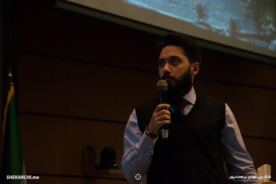 حمید مجاهدنیا در ششمین رویداد دیامتاک / عکاس: مهدی برهمندپور