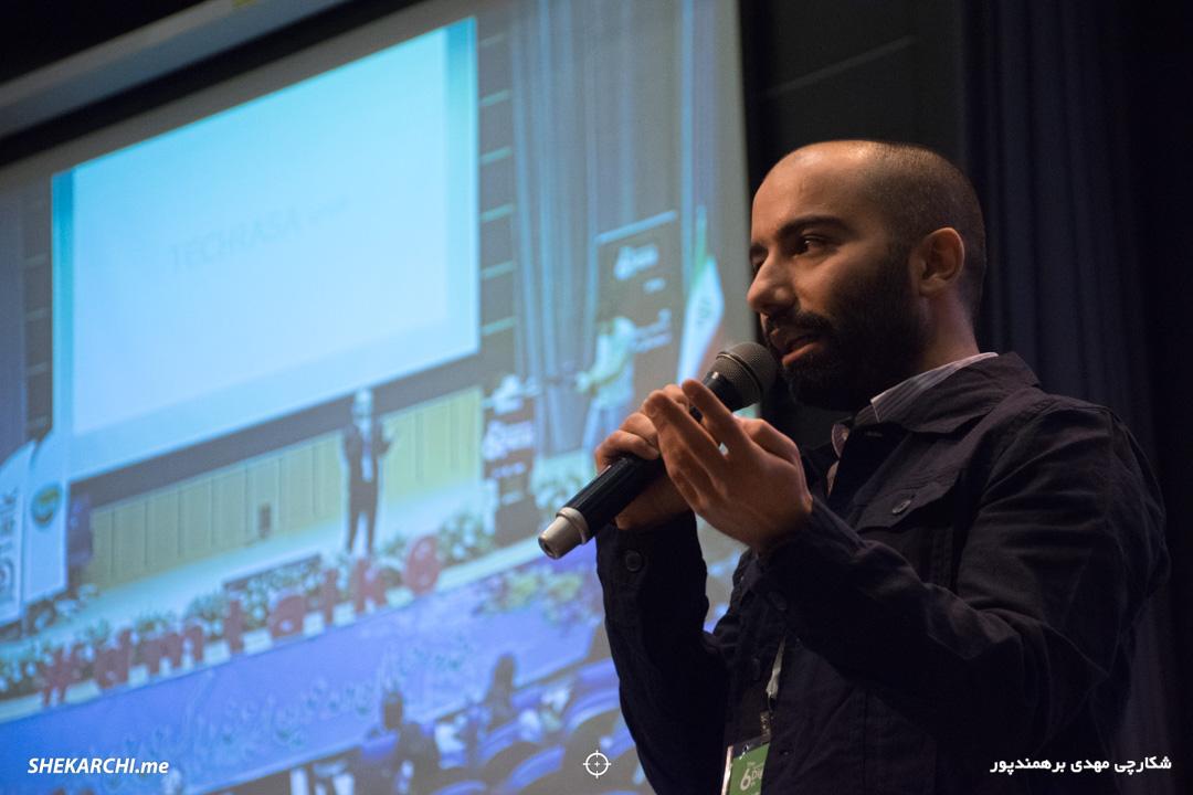 محمدرضا ازلی در ششمین رویداد دیامتاک / عکاس: مهدی برهمندپور