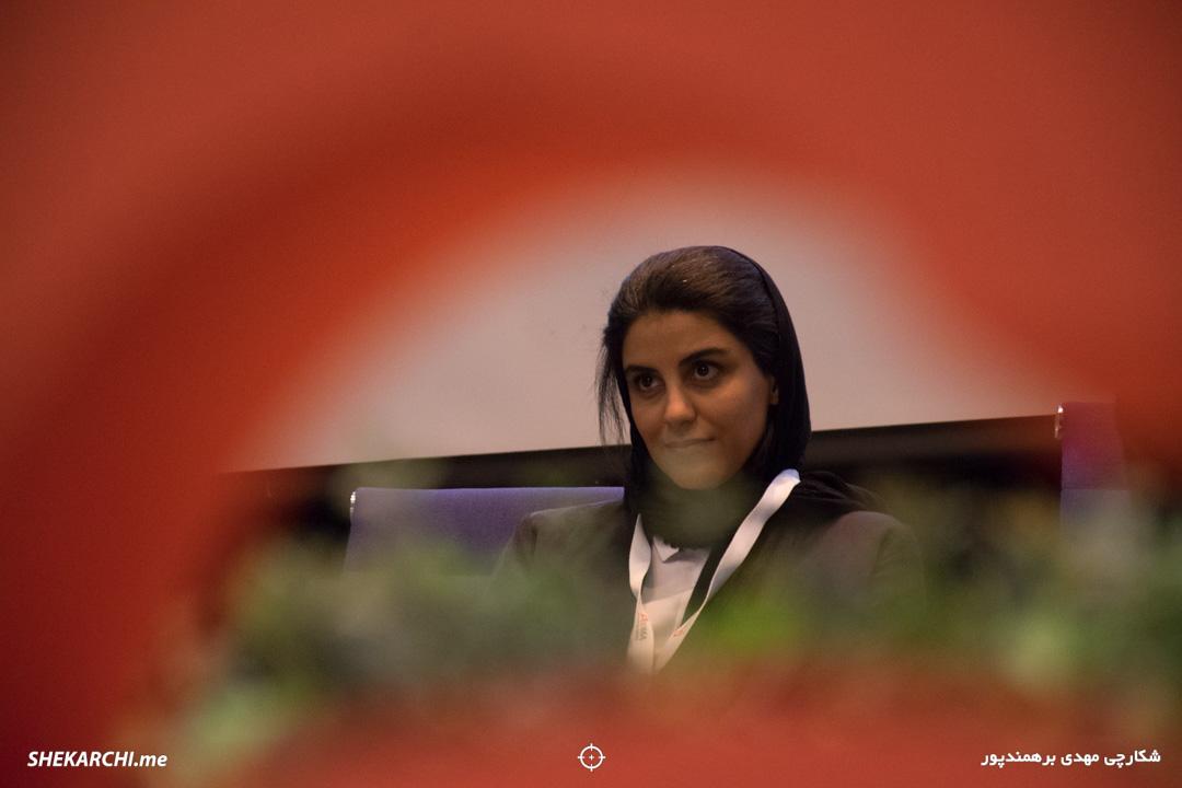 سحر افاضلی در ششمین رویداد دیامتاک / عکاس: مهدی برهمندپور