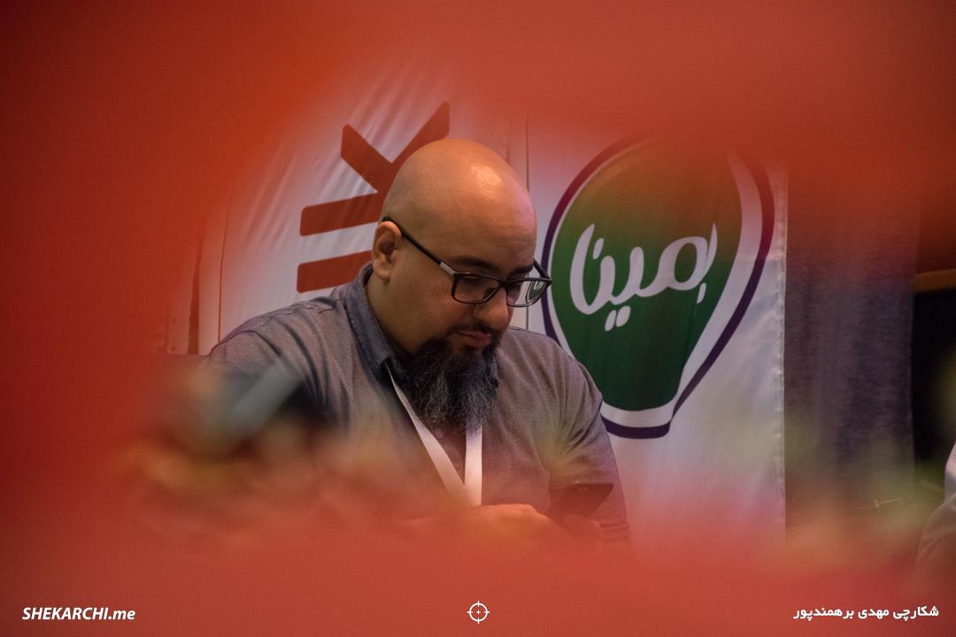 جلال روحانی در ششمین رویداد دیامتاک / عکاس: مهدی برهمندپور