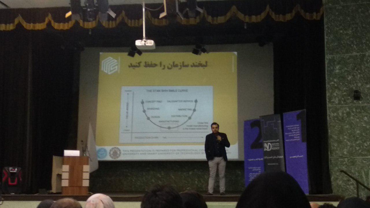 ارائه محمدمهدی سماواتی در اولین همایش مارکترچلنج