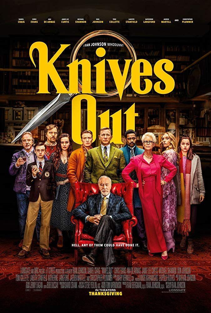 نقد و بررسی فیلم Knives Out / چاقو کشی