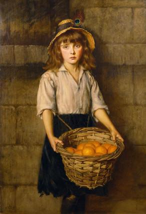 مرور کتاب - دختر پرتقالی