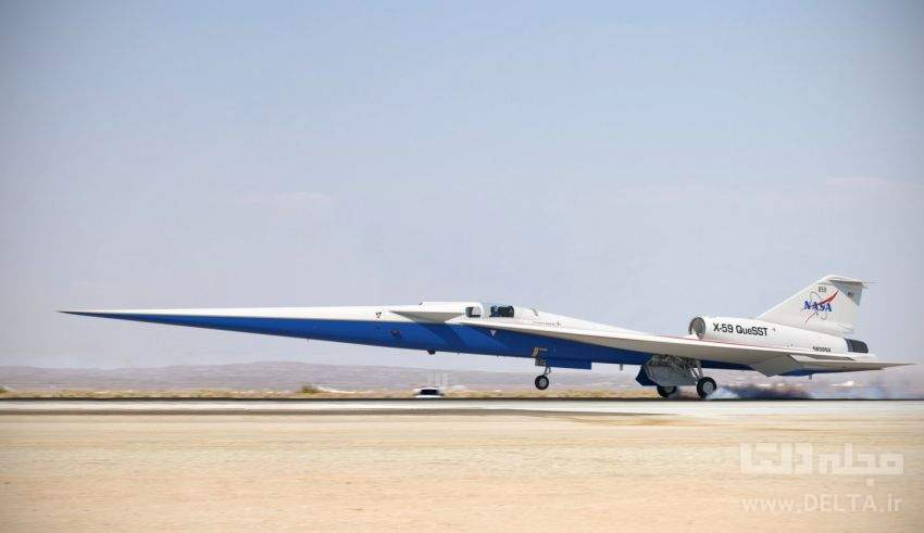 هواپیمای ما فوق صوت و بی صدا ؛ جت X-59