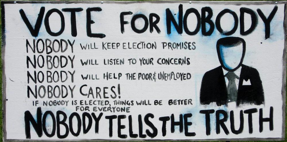هفت دلیل برای دوست نداشتن سیاستمدارها