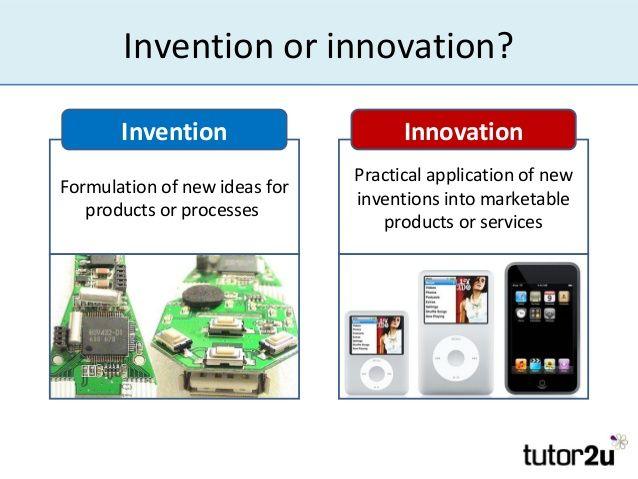 قطعا شما به تصویر سمت چپ یک نوآوری نمی گویید...