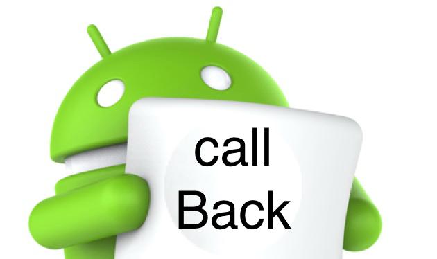الگوی Event Handling و CallBack در اندروید