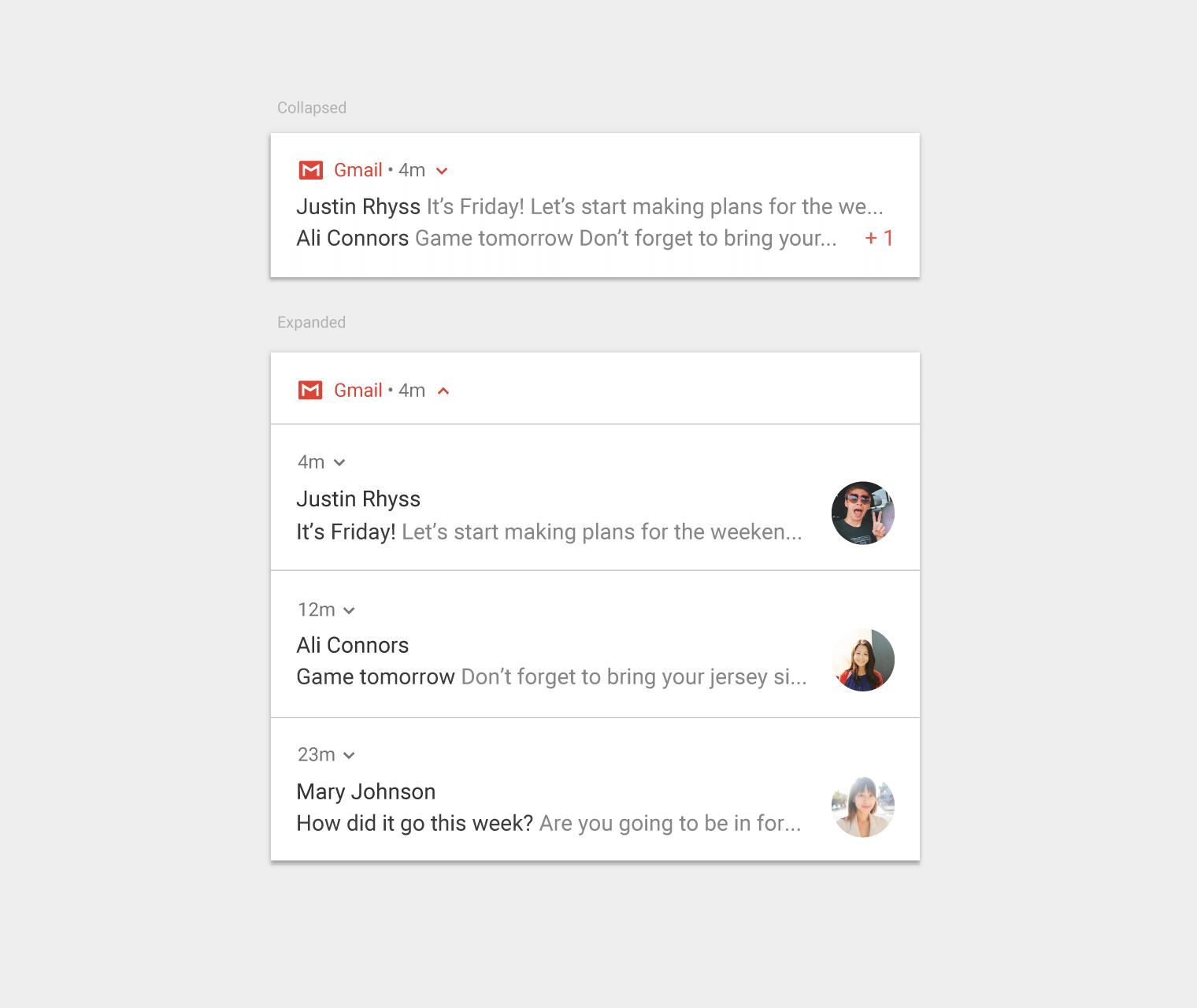 bundle notifications