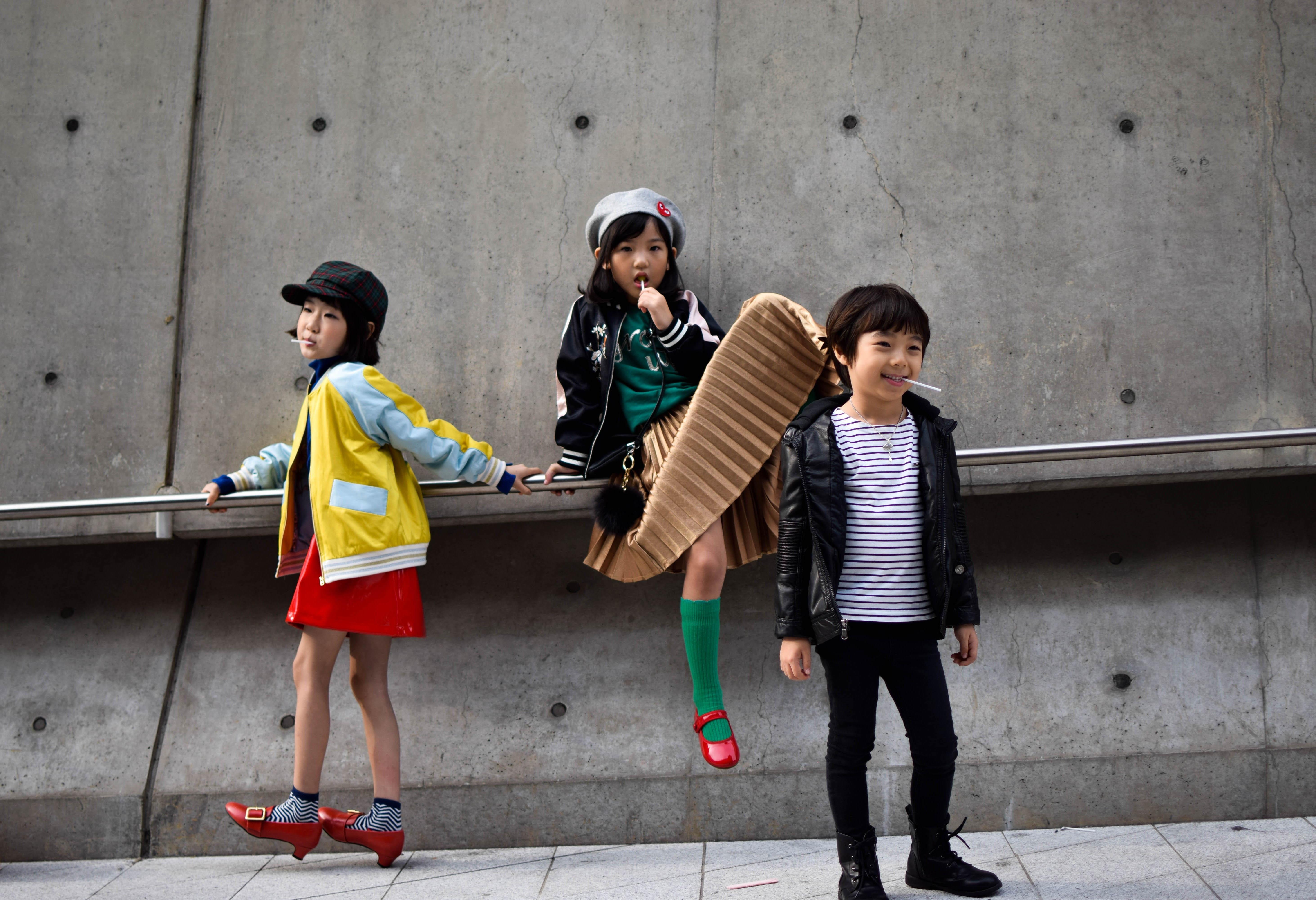 طراحی مُد کودکان