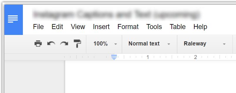 نماد در گوشه سمت چپ بالای Google Doc می تواند کاربران را گیج کند
