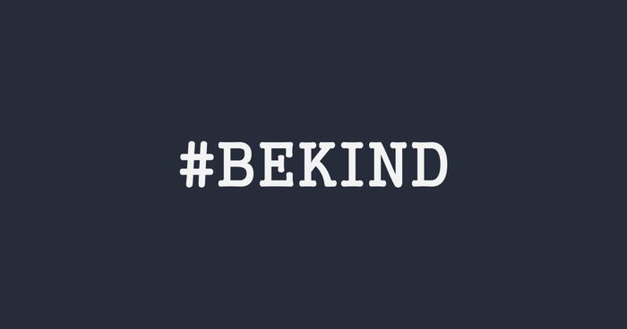 هشتگ معروف BeKind#