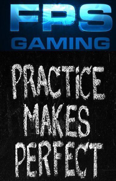 دست از تمرین کردن بر ندارید
