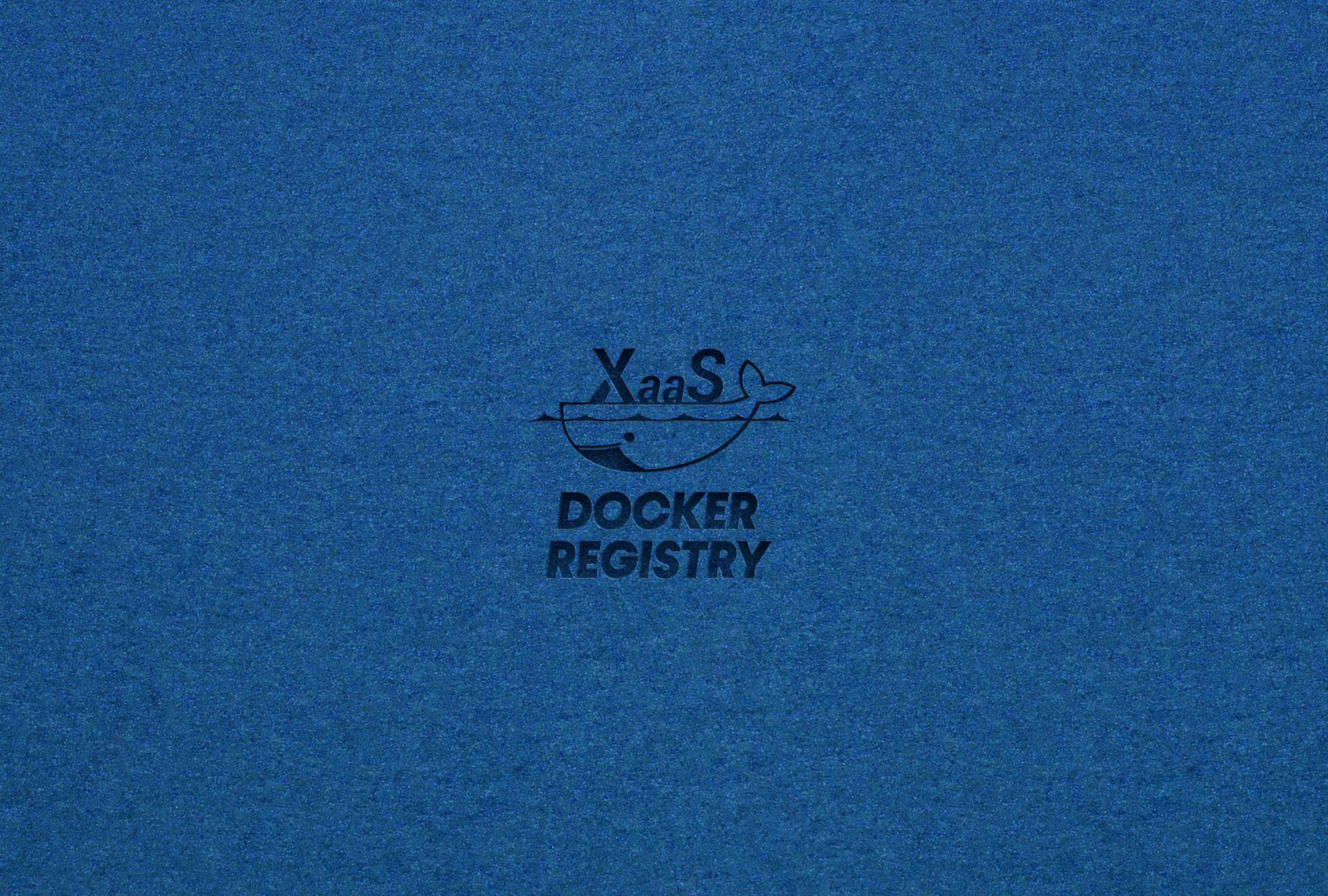 XaaS Docker Registry