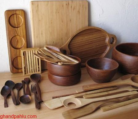 قاشق های چوبی
