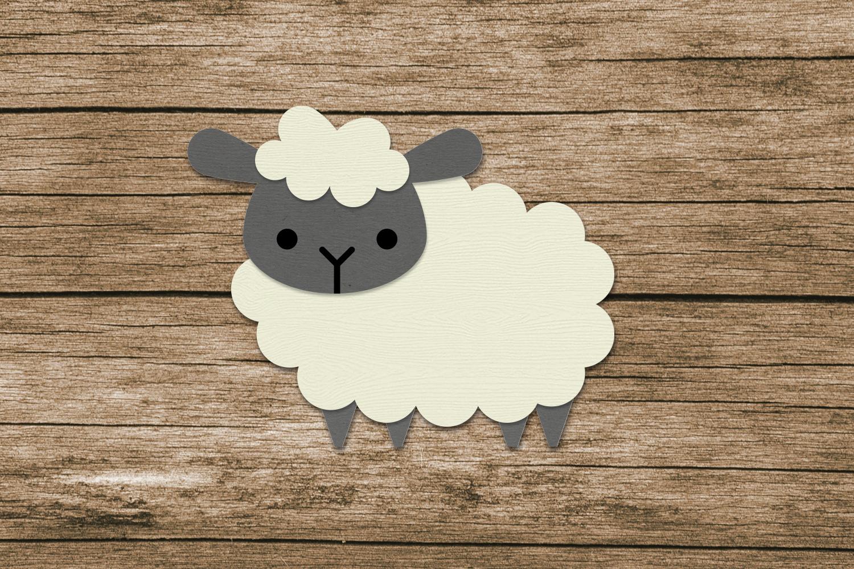 ۱۰۰ تا گوسفند کاغذی