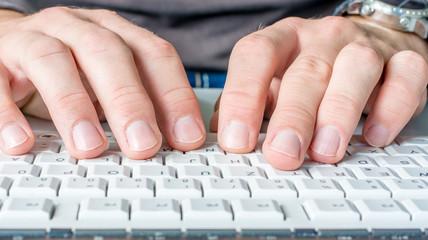 معرفی وبسایت های آموزش رایگان تایپ سریع(10 انگشتی)