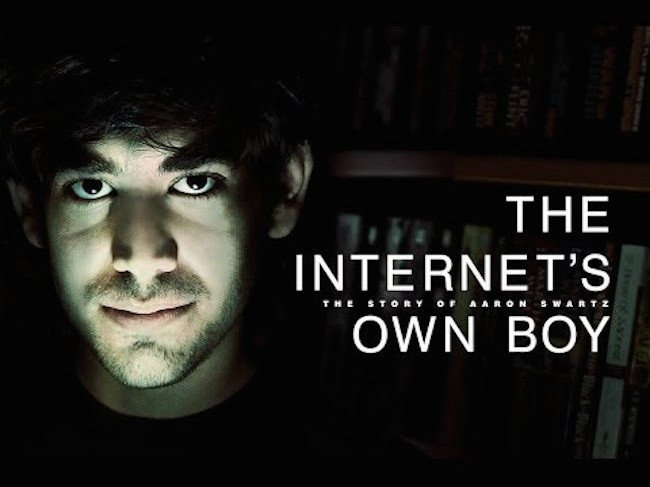 مروری بر شخصیت پسر اینترنت (Aeron Swartz)