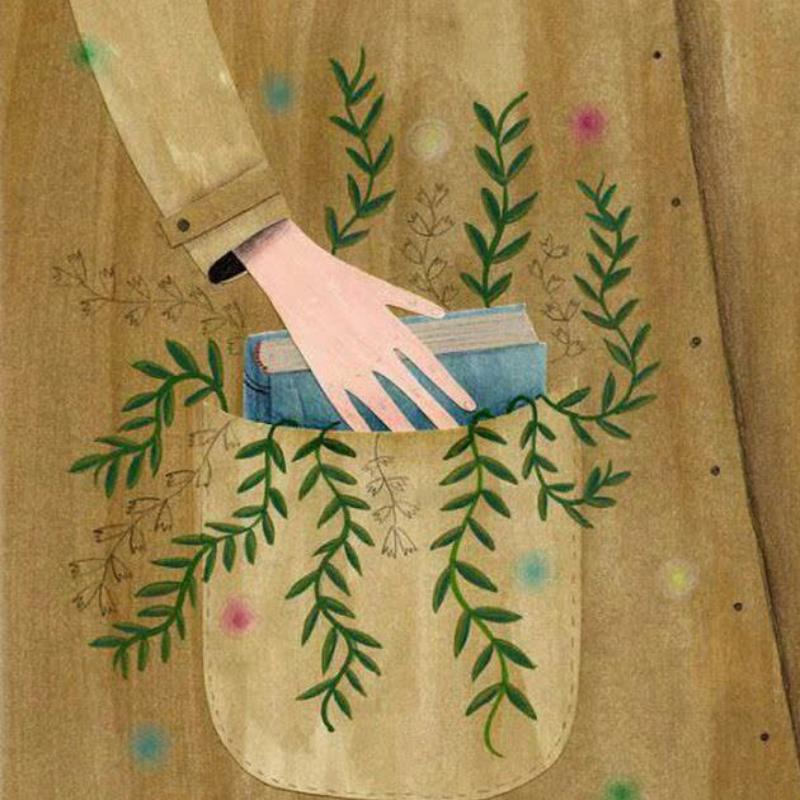 دختر یک باغبان