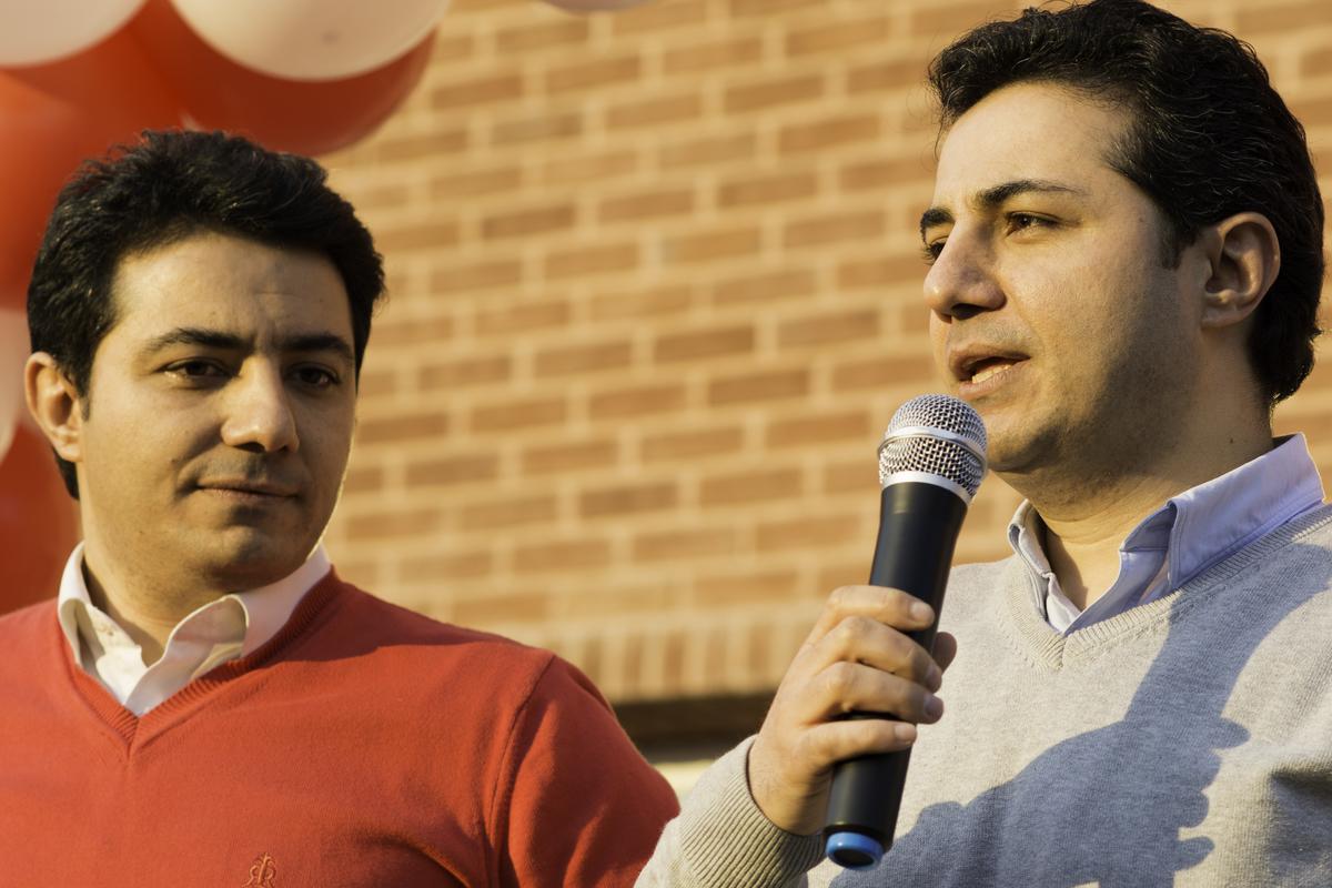 حمید و سعید محمدی، موسسین دیجیکالا - Courtesy of DigiKala.com