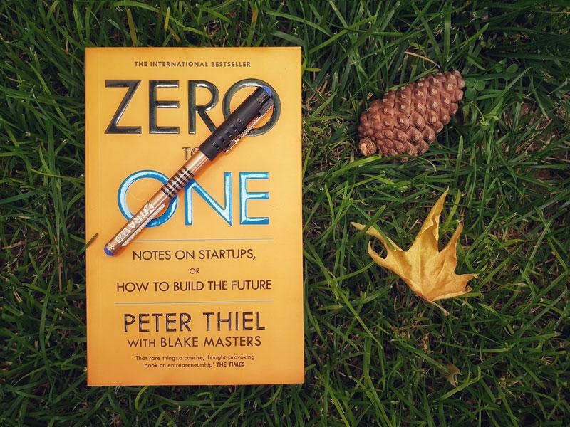صفر به یک: نکاتی درباره استارتاپها یا چگوه آینده را بسازیم
