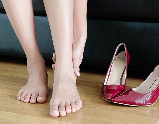 جا باز کردن کفش زنانه چرمی!! چگونه؟!