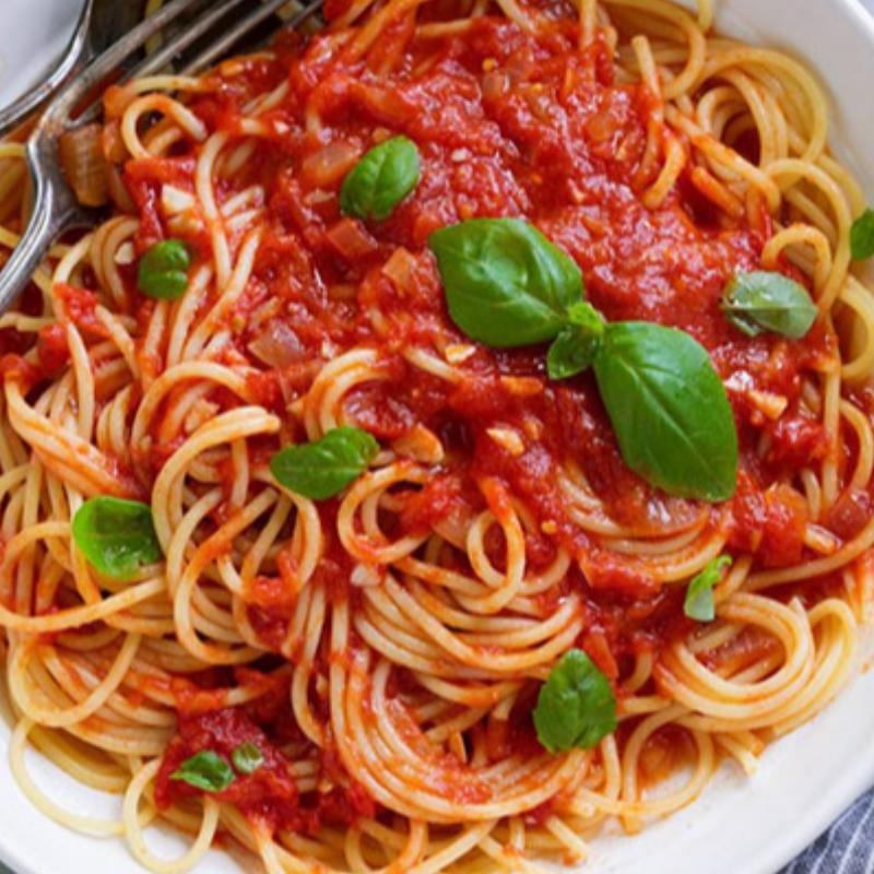اسپاگتی با سس تند