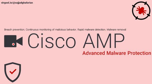 معماریهای جدید امنیتشبکه: آشنایی با Cisco AMP