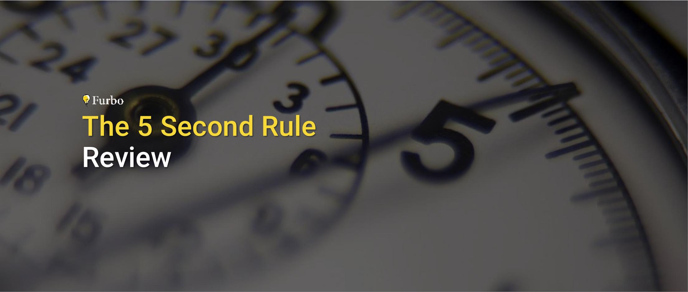 بررسی کتاب «قانون ۵ ثانیه» نوشته مِل رابینز