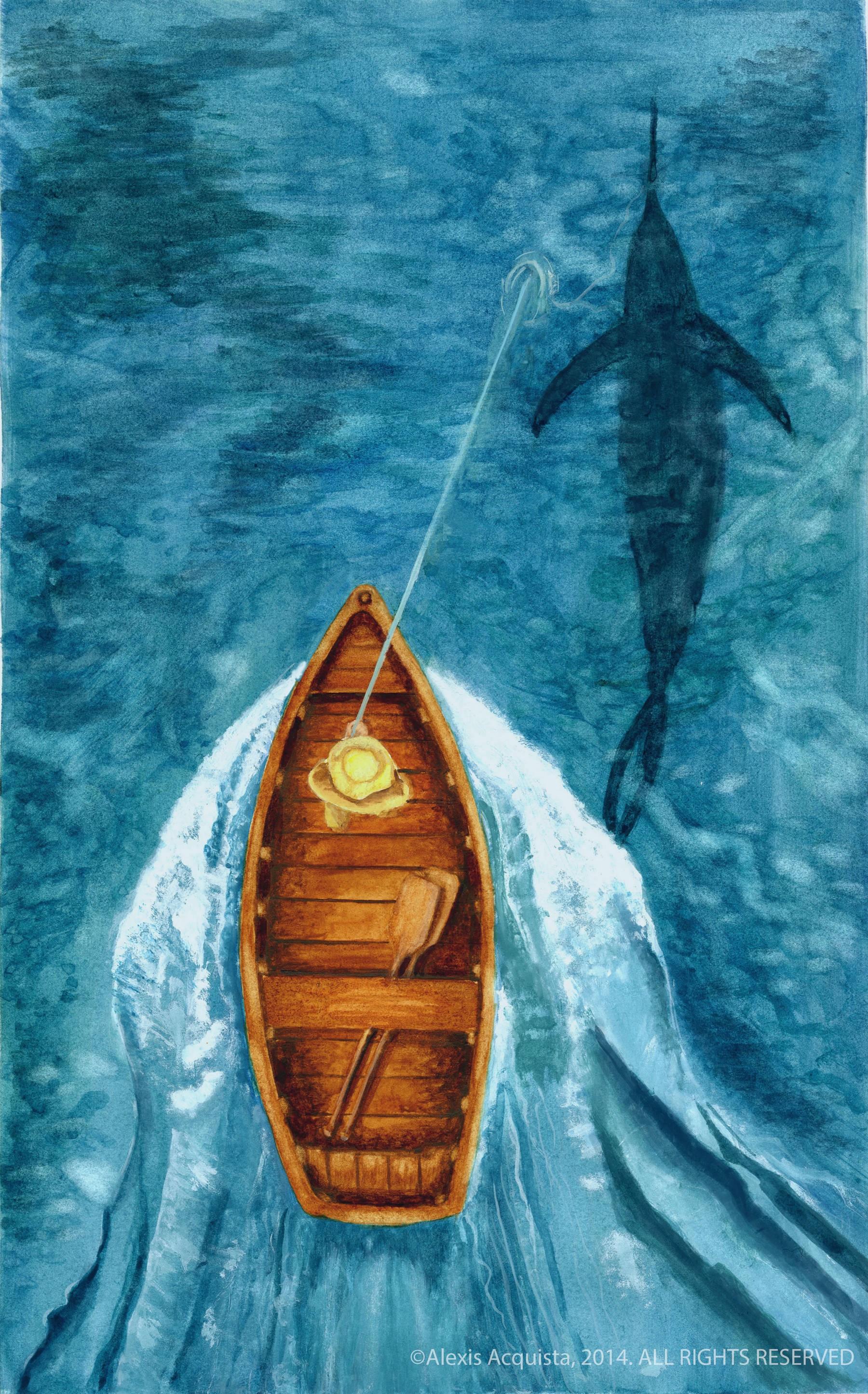 پیرمرد و دریا اثر همینگوی