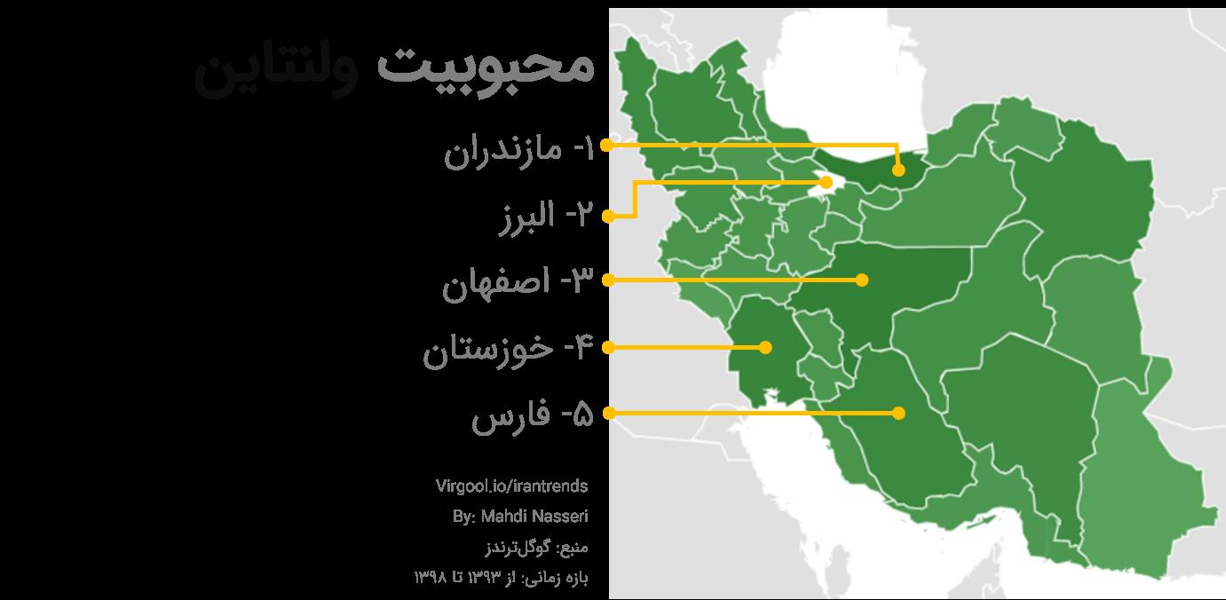 ولنتاین در ایران
