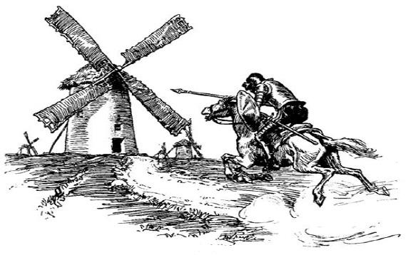 دن کیشوتها و آسیابهای بادی