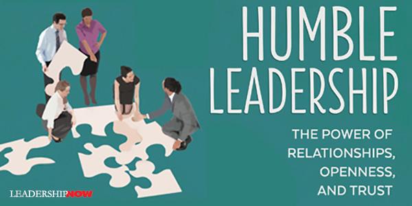 رهبری سازمان با فروتنی