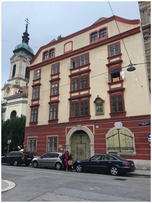 خانه یوهان یوزف فون سملین، پسر نادرشاه در وین، اتریش