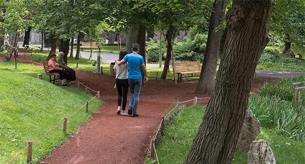 پارک عشاق ایروان ارمنستان