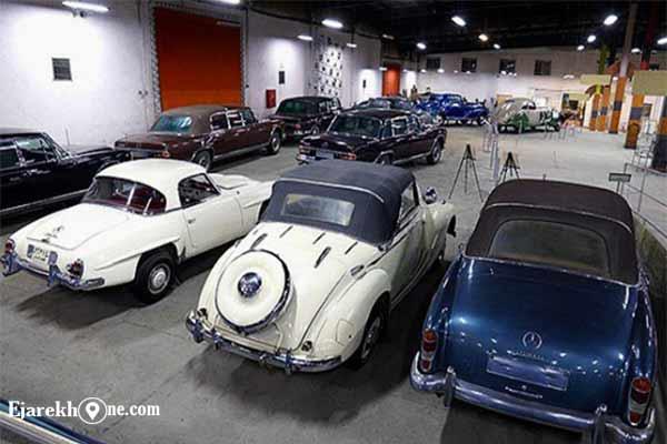 عکس هایی از خودروهای کلاسیک قدیمی موزه خودرو